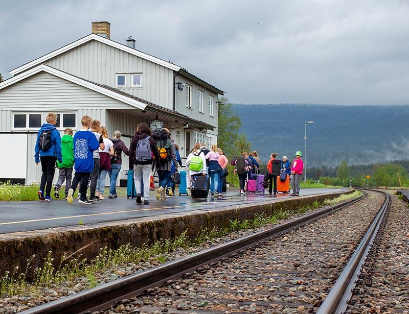 Ankomst Camp Bjøntegaard