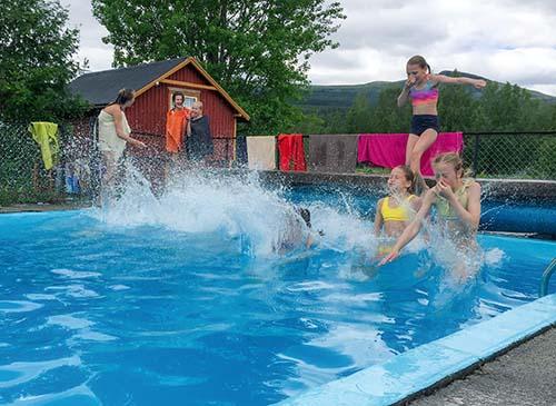 aktiviteter basseng