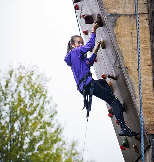 Aktiviteter klatring